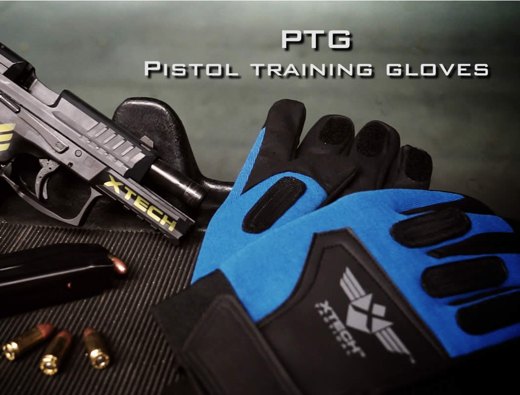 Pistol Training Glove Promo Graphic